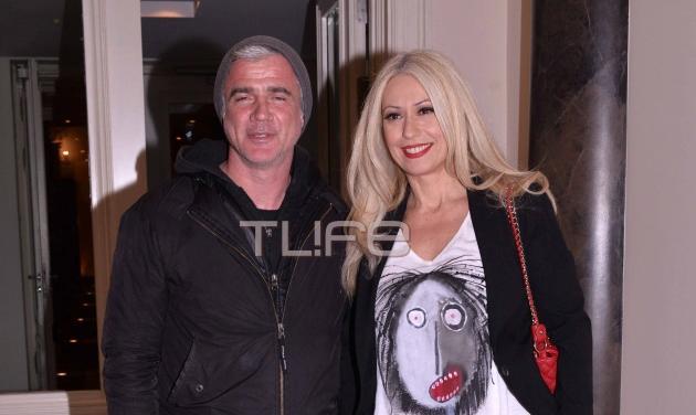 Μαρία Μπακοδήμου: Έξοδος με τον πρώην σύζυγό της Δημήτρη Αργυρόπουλο! Φωτογραφίες