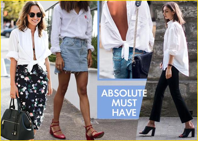15 συμβουλές για φορέσεις τώρα με στιλ το λευκό πουκάμισο - TLIFE 7ad9190db7f