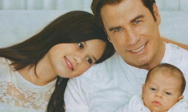 Ο Τ. Τραβόλτα παρουσιάζει τον γιο του! Δες φωτογραφίες! | tlife.gr