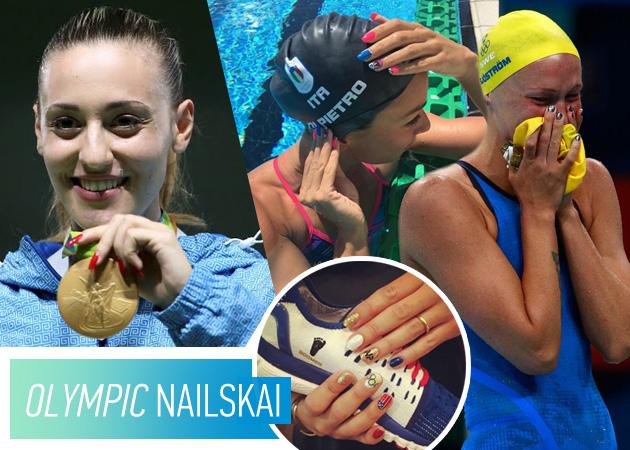 Ολυμπιακοί Αγώνες 2016: δες τα πιο θεαματικά μανικιούρ των αθλητριών!