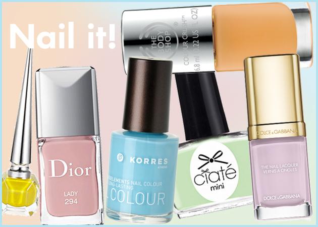 11 χρώματα που πρέπει οπωσδήποτε να βάψεις τα νύχια σου την Άνοιξη του '15!