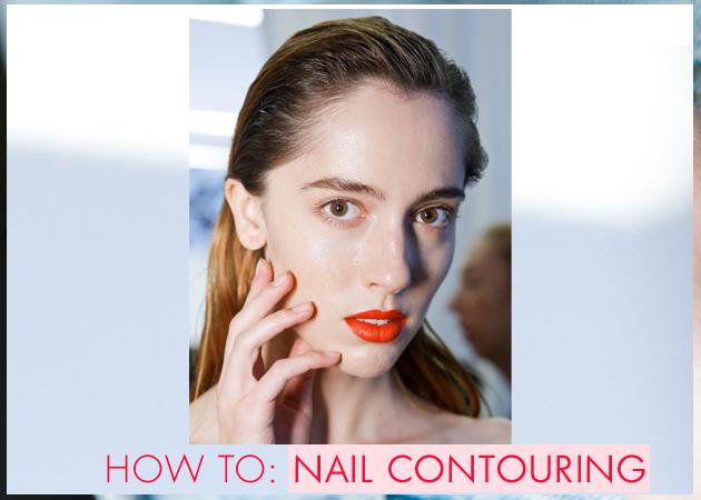 Nail contouring! Η τάση από τις ανοιξιάτικες πασαρέλες που κάνει τα νύχια σου να δείχνουν πιο μακριά!