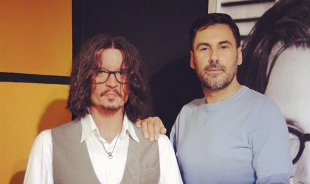 Όταν ο Χρήστος Νέζος συνάντησε τον Johnny Depp και άλλους star του Hollywood!