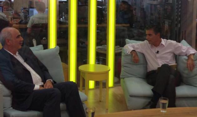 Εκλογές 2015: Δες τη συνέντευξη του Βαγγέλη Μεϊμαράκη στο Νίκο Ευαγγελάτο | tlife.gr