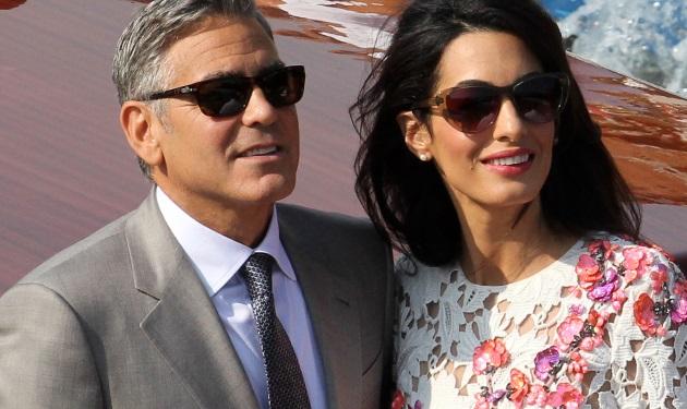 George Clooney – Amal Alamuddin: Η πρώτη δημόσια εμφάνιση ως παντρεμένοι! Φωτογραφίες | tlife.gr