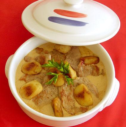 Γαλλική Κουζίνα: Χοιρινό με μήλα | tlife.gr