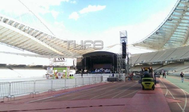 Το TLIFE στο συναυλία της Lady Gaga! Δες τις πρώτες φωτογραφίες μέσα από το ΟΑΚΑ | tlife.gr