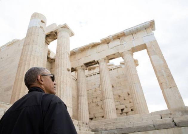 Μπαράκ Ομπάμα: Video ύμνος μέσα από την Ακρόπολη και το Μουσείο | tlife.gr