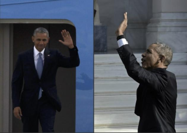 Ομπάμα: Ήρθε Ελλάδα και… χώρισε τη Μισέλ; «Καπνός» η βέρα! [pics] | tlife.gr