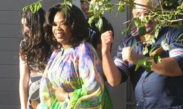 Oprah Winfrey: Για barbecue με τους φίλους της!