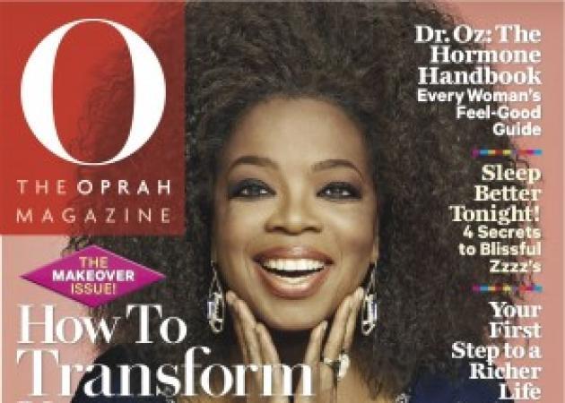 Για πρώτη φορά Oprah ποζάρει με τα φυσικά της μαλλιά!