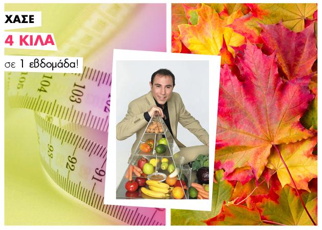 Φθινοπωρινή Δίαιτα Orac! Το μενού της πρώτης εβδομάδας και οι συνταγές για τα πιάτα της δίαιτας…