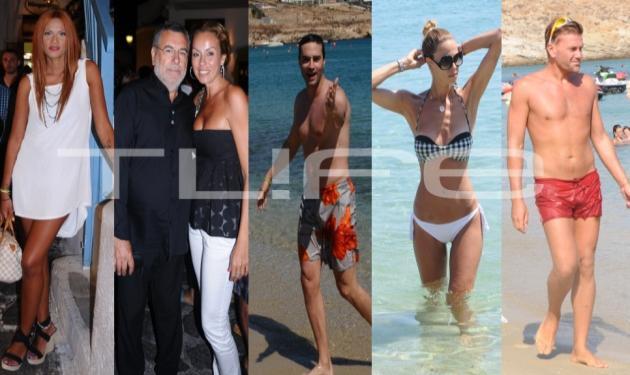 Όταν η Μύκονος …γεμίζει celebrities! Δες φωτογραφίες | tlife.gr