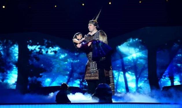 Eurovision 2013: Ο γίγαντας και η πριγκίπισσα για την Ουκρανία!