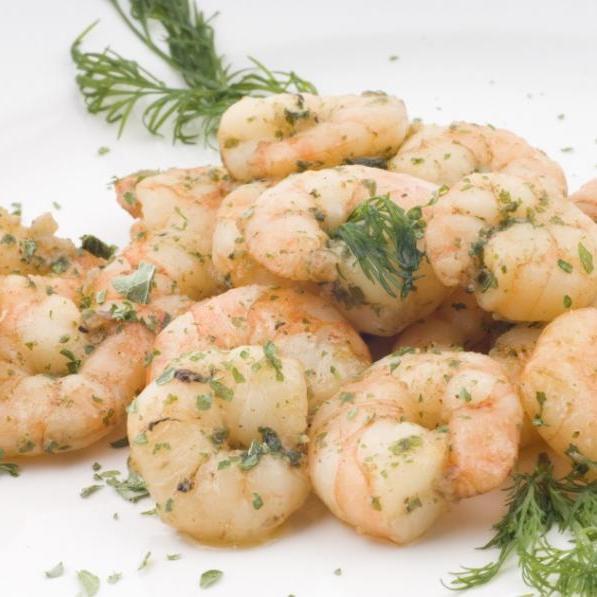 1   Σκορδάτες γαρίδες με ούζο!