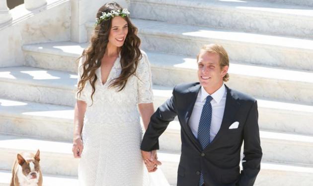 Οι πρώτες φωτογραφίες από τον πολιτικό γάμο του A. Casiraghi με την Tatiana Santo Domingo!   tlife.gr