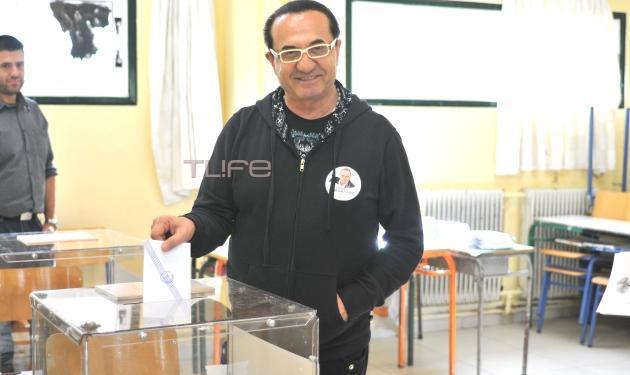 Λευτέρης Πανταζής: Ψήφισε ο τραγουδιστής που είναι υποψήφιος στον Δήμο Βάρης – Βούλας – Βουλιαγμένης!