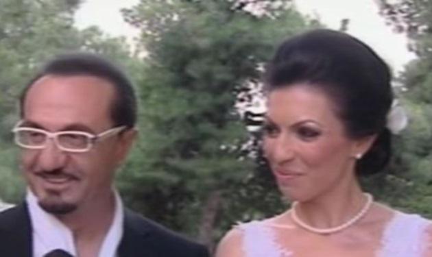 Ο Λευτέρης Πανταζής πάντρεψε την ανιψιά του! Βίντεο