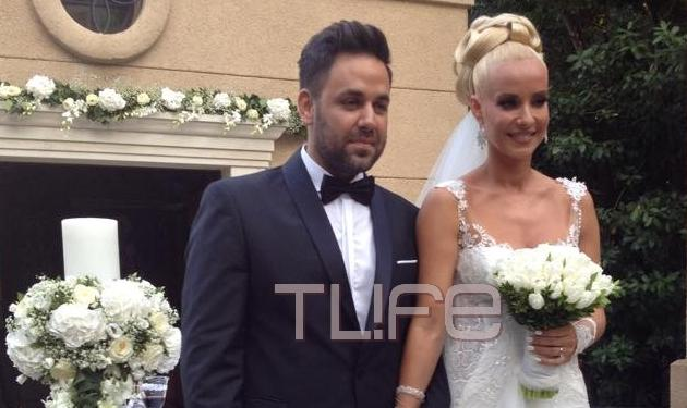 Ελευθερία Παντελιδάκη – Γιώργος Γιαννιάς: Ο παραμυθένιος γάμος τους στη Ρόδο! Φωτογραφίες