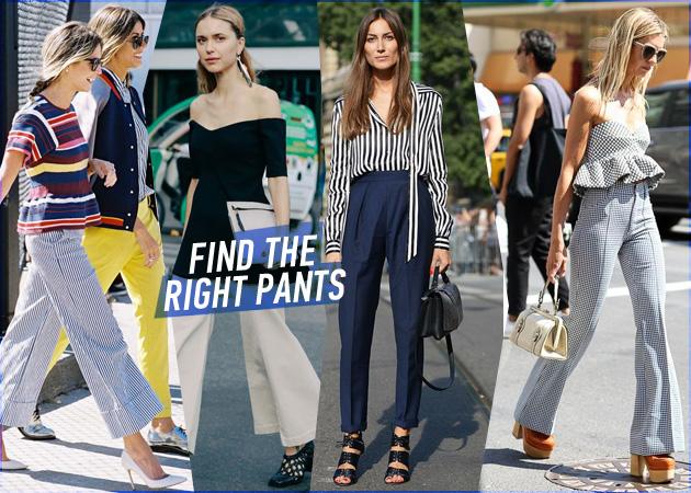 44027fa1449 Βρες το σωστό παντελόνι για το σωματότυπό σου! | tlife.gr