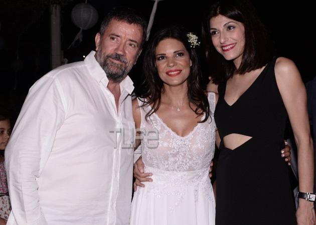 Σπύρος Παπαδόπουλος – Νικολέτα Κατσαηλίδου: Μαζί στο γάμο της Μαρίνας Ασλάνογλου! Φωτογραφίες
