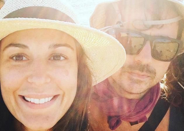 Κατερίνα Παπουτσάκη: Με τους άντρες της ζωής της στη Δονούσα! | tlife.gr