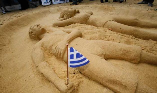 Ελληνική παραλία στο… Λονδίνο!