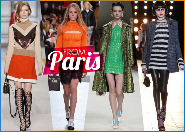 Paris Fashion Week F/W 2015: Τι έδειξαν οι μεγαλύτεροι οίκοι για τον επόμενo χειμώνα (part 2)! | tlife.gr