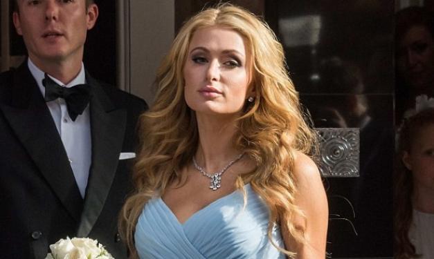 Paris Hilton: Με ξινισμένα μούτρα στον χλιδάτο γάμο της αδερφή της!   tlife.gr
