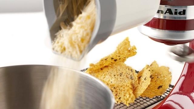 Πώς θα κάνεις τσιπς παρμεζάνας;