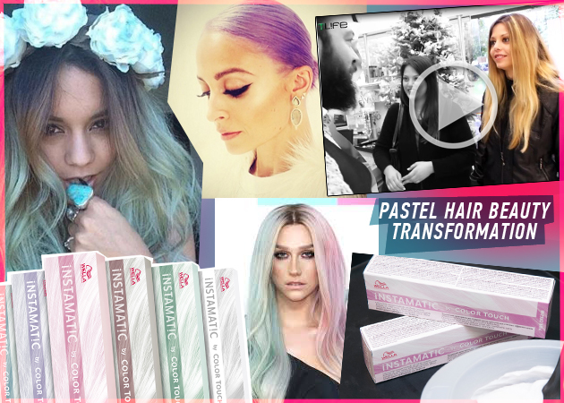 Σου πάνε τα παστέλ μαλλιά! Δες την μεταμόρφωση των αναγνωστριών με Instamatic by Color touch της Wella! | tlife.gr