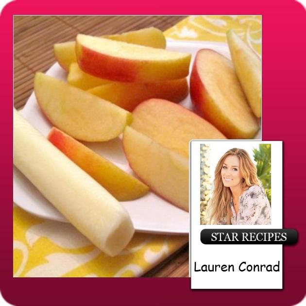 Μήλο και αχλάδι με τυρί