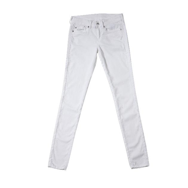 4 | 'Ασπρο τζιν σωλήνας PEPE JEANS