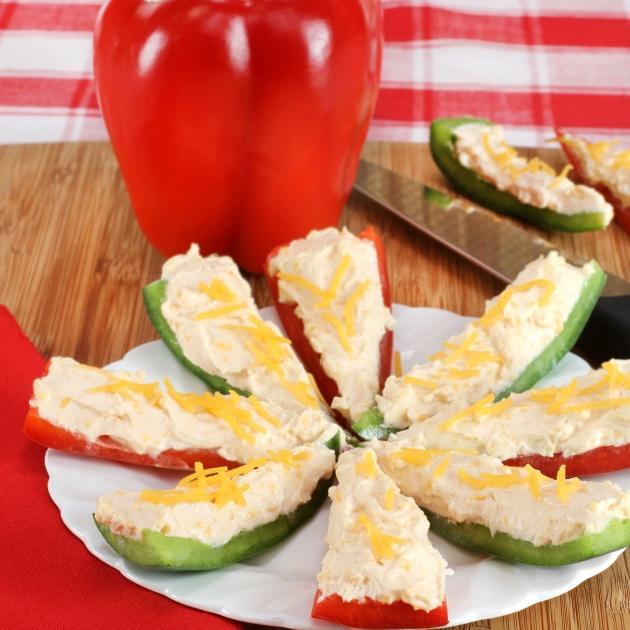 Γρήγορες γεμιστές πιπεριές