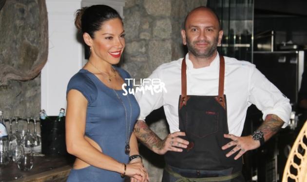 Μαριάντα Πιερίδη: Για φαγητό στο εστιατόριο του συντρόφου της στη Μύκονο! Φωτογραφίες | tlife.gr
