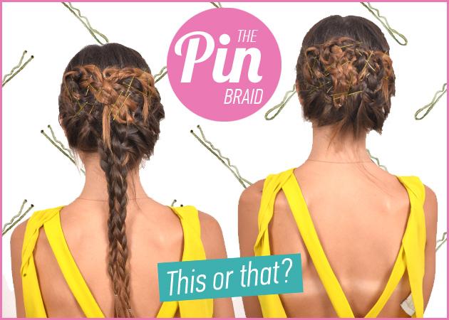 Pin braids: πώς να κάνεις την πλεξίδα σου πιο ενδιαφέρουσα και να την αλλάξεις την επόμενη μέρα! | tlife.gr