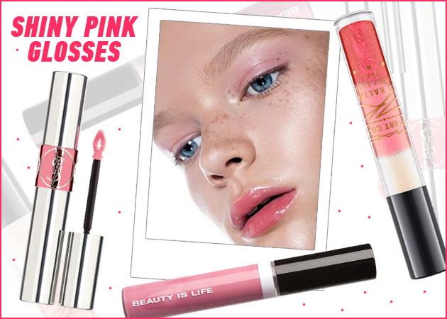 Τα 7 καλύτερα ροζ lipgloss της αγοράς. Γιατί όλες πρέπει να έχουμε ένα για την άνοιξη
