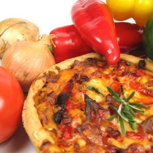 Πίτα με πιπεριές και γιαούρτι! | tlife.gr