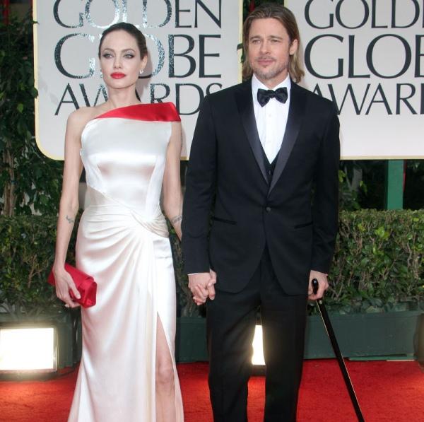 13 | Angelina Jolie – Brad Pitt