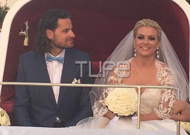 Όλγα Πολίτη: Ο παραμυθένιος γάμος της, στις Σπέτσες! Φωτογραφίες και βίντεο | tlife.gr