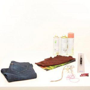 Η Πόπη Αναστούλη σου δείχνει πως να φτιάξεις μια τσάντα με το παλιό σου τζιν