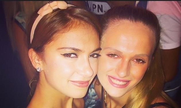 Η Άννα Πρέλεβιτς ξενυχτάει με την αδελφή της! Δες photo