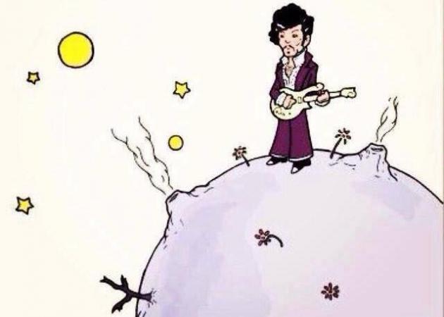 Ο «μικρός Πρίγκιπας»  αποχαιρετά τον Prince με έναν ξεχωριστό τρόπο   tlife.gr