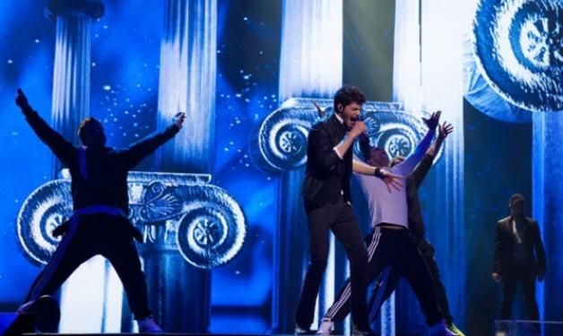 Δες βίντεο από την πρώτη πρόβα του Λούκα και του Stereo Mike για τη Eurovision! | tlife.gr