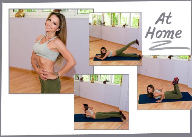 SEXY BACK! Η Σόφη Πασχάλη σου δείχνει ασκήσεις για ωραία πλάτη και σφιχτούς γλουτούς | tlife.gr