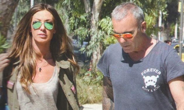 Σ. Ρόκκος – Ε. Γκόφα: Βόλτα για δυο στη Γλυφάδα!