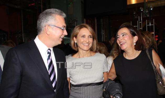 Θοδωρής Ρουσόπουλος – Μάρα Ζαχαρέα: Σε μια από τις λίγες επίσημες βραδινές εξόδους τους!