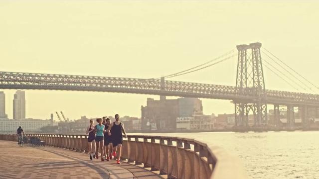 Ένα μίνι ντοκιμαντέρ για το τρέξιμο στην πόλη