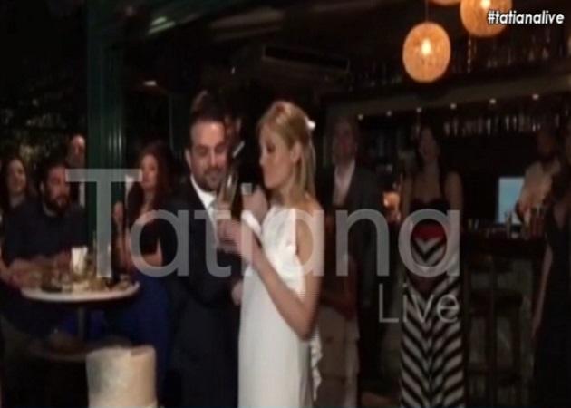 Γαβριήλ Σακελλάρίδης – Ράνια Τζίμα: Νέο βίντεο με τους χορούς τους στο γαμήλιο γλέντι!