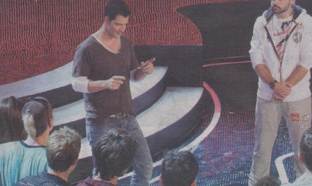 Όταν ο Σ. Ρουβάς παρέδωσε… μαθήματα στους υποψήφιους του X – factor! | tlife.gr